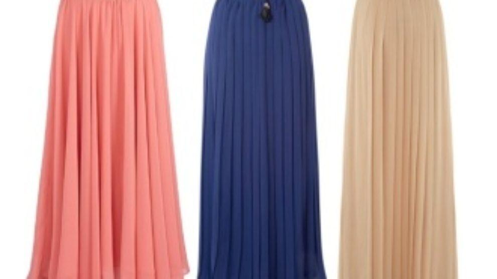 Kako nositi maxi suknju
