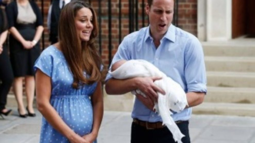 Prve fotke kraljevske bebe!