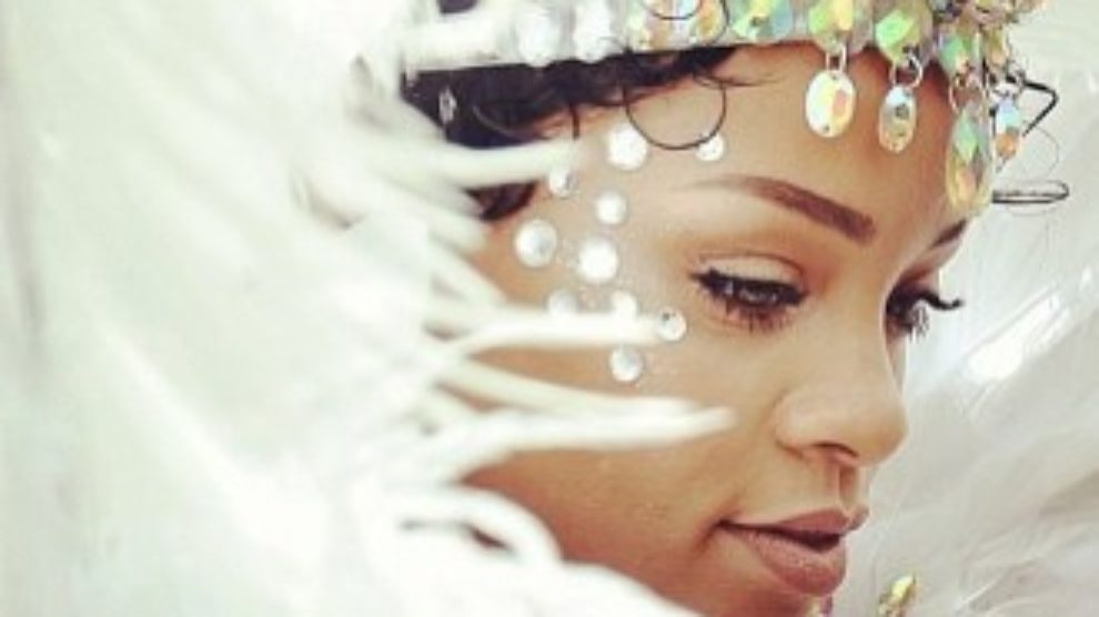 Golisava Rihanna na karnevalu na Barbadosu