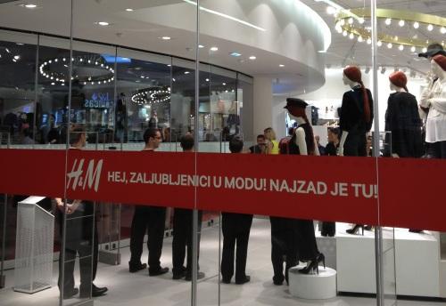 Otvorena prva H&M radnja u Beogradu