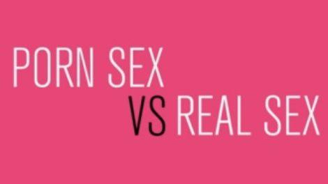 Razlike između porno seksa i stvarnog seksa
