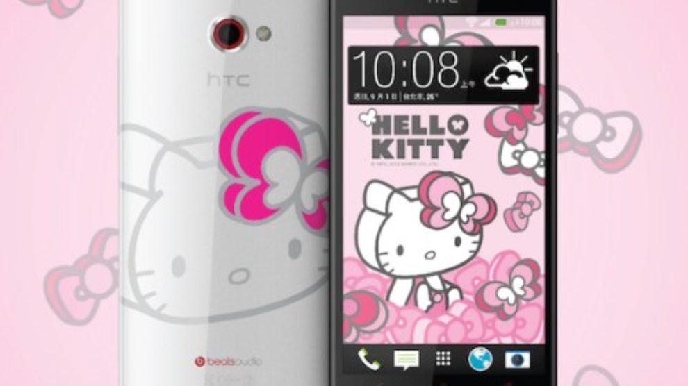 Hello Kitty HTC Butterfly S