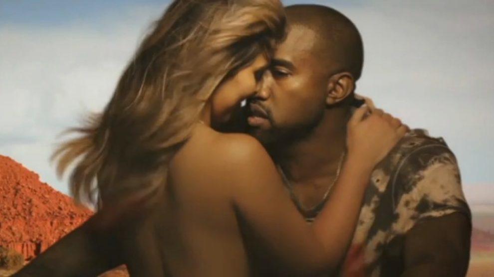Gola Kim Kardashian u spotu Kanye Westa!