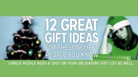 12 ideja za poklone za usamljene