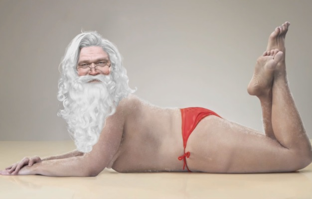 Deda Mrazov božićni video