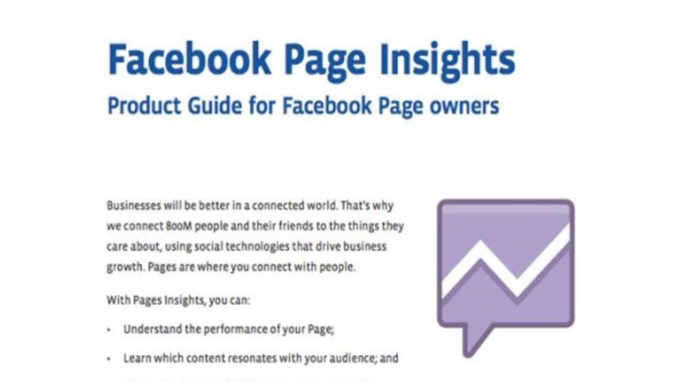 Facebook Page Insights prestao da radi?