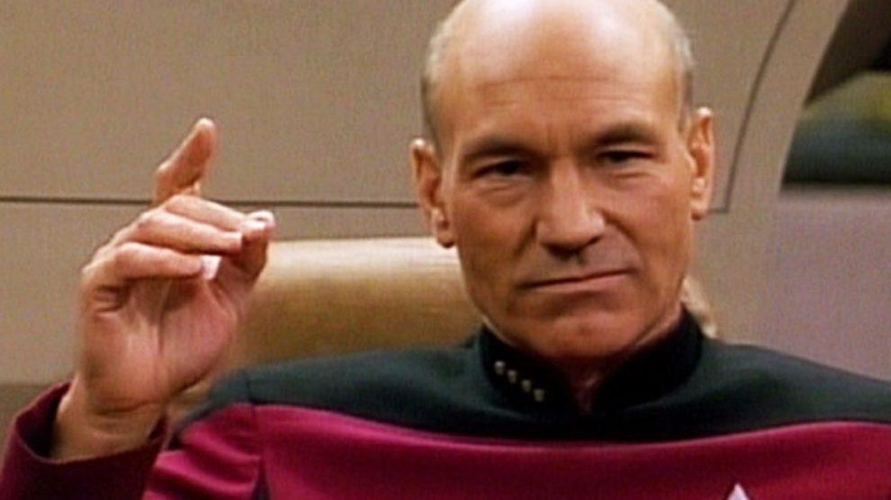 "Kapetan Picard u pesmi ""Let It Snow""!"