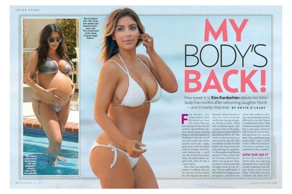 Kim Kardashian pokazala svoje seksi mama telo!