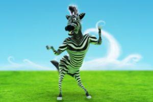 Ludi zebra ples!