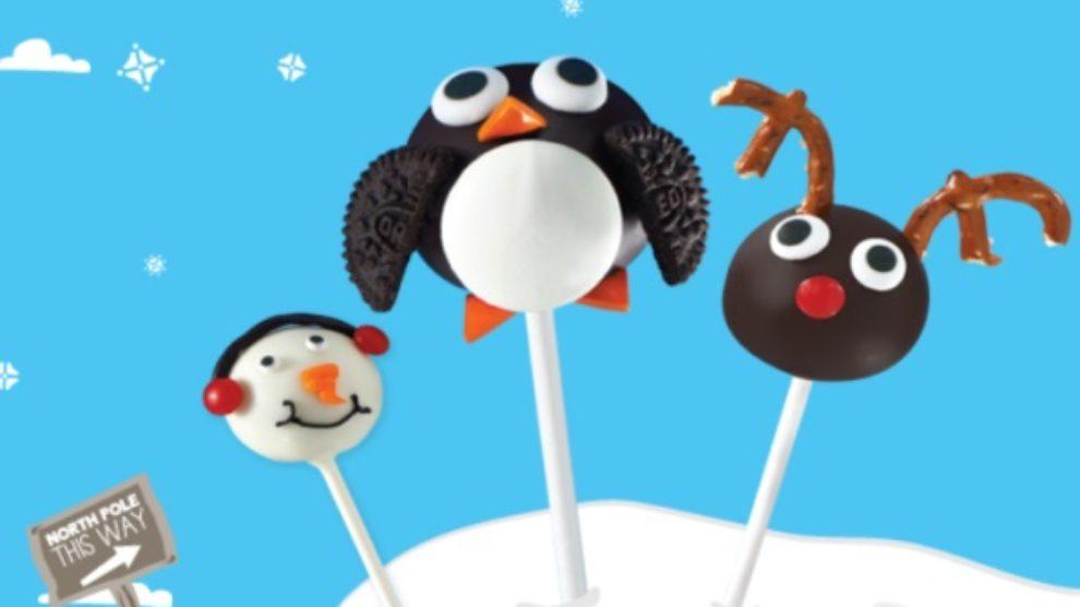 Oreo Cookie Balls praznična reklama