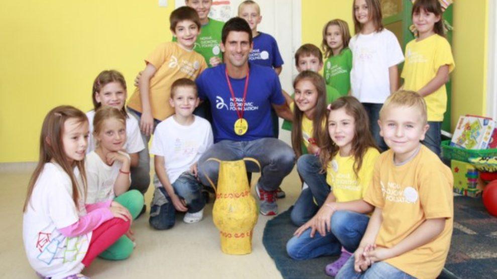 #UtoplimoDecu sa Fondacijom Novak Đoković!