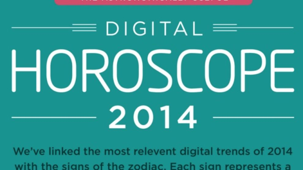 Digitalni horoskop za 2014. godinu