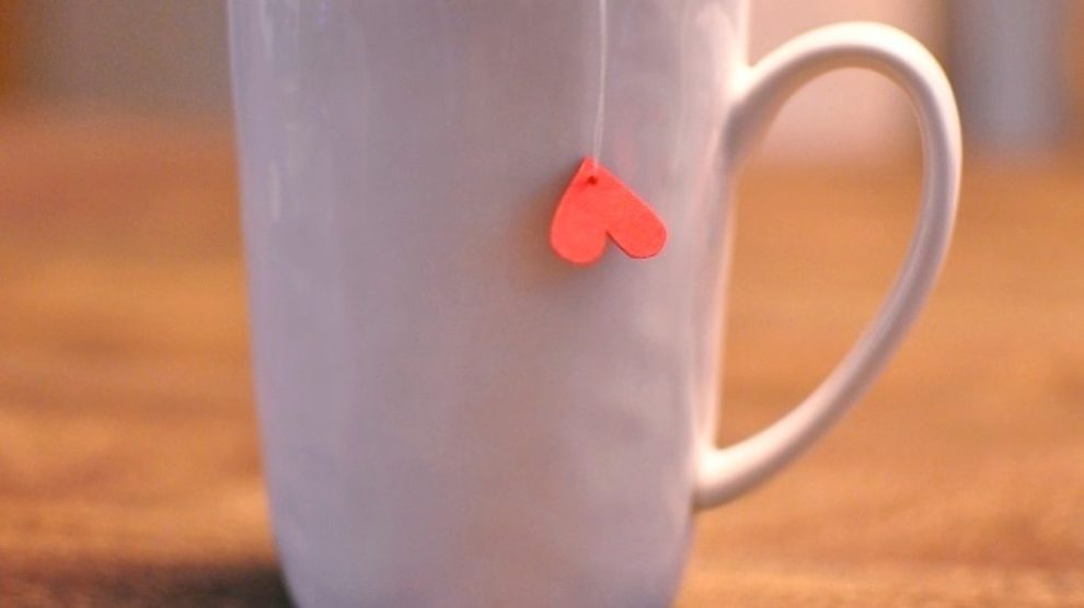 Napravite same kesice za čaj u obliku srca!