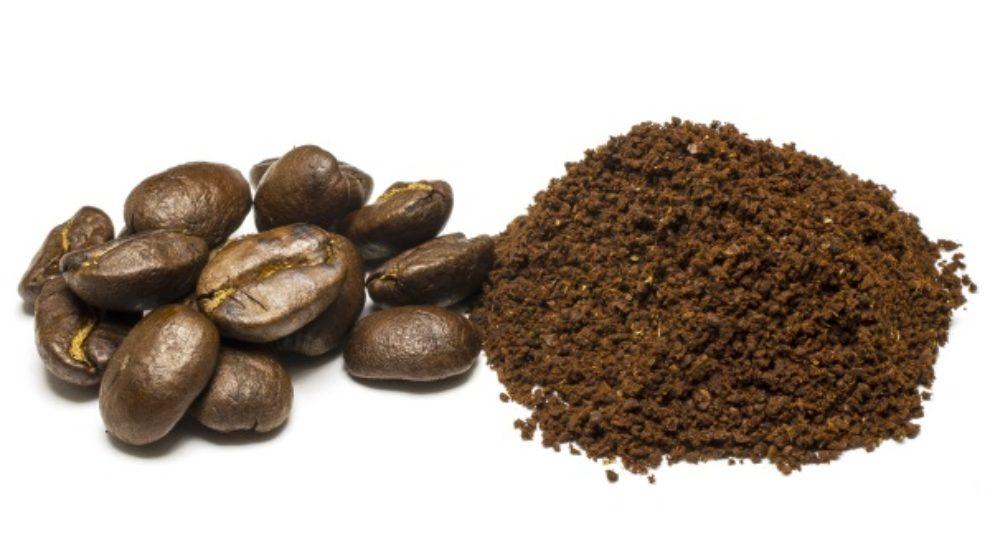 Piling za telo od kafe