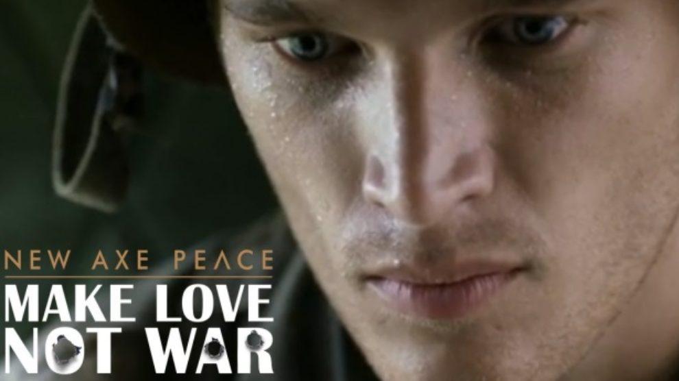 Axe Peace poljubac za mir