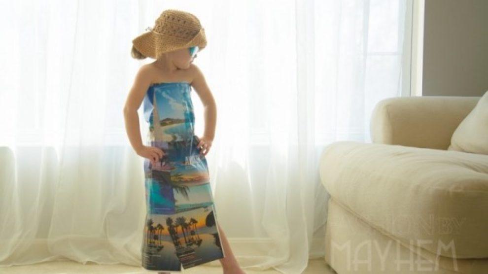 Četvorogodišnje modno čudo!
