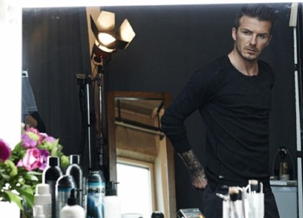 Goli David Beckham za HM!