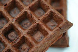 Recept za vafle od crne čokolade
