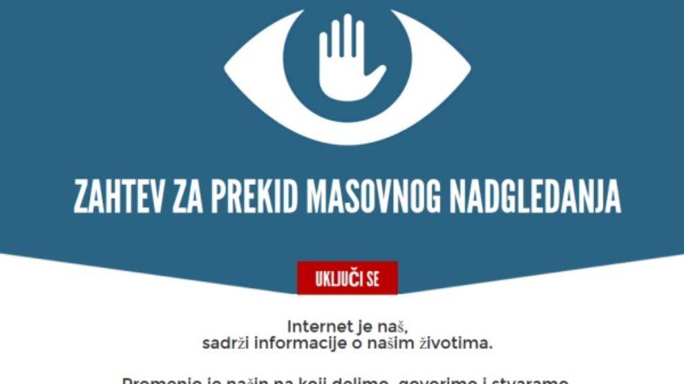 Share fondacija upozorava na masovno nadgledanje u Srbiji!