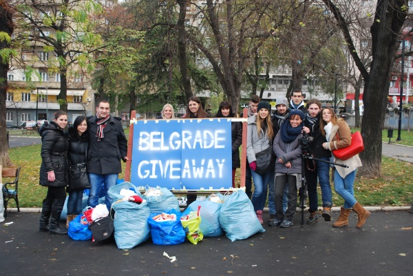 Nova Belgrade Giveaway humanitarna akcija