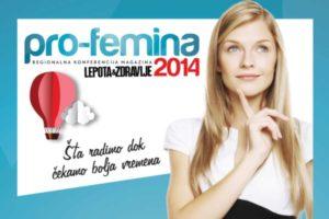 Pro Femina 2014 regionalna konferencija
