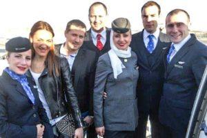 Prosidba u avionu Air Serbia!