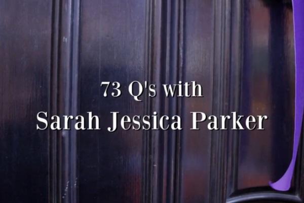 Video intervju sa Sarah Jessica Parker za Vogue