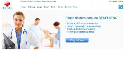 Eklinika.rs online lekari na jednom mestu