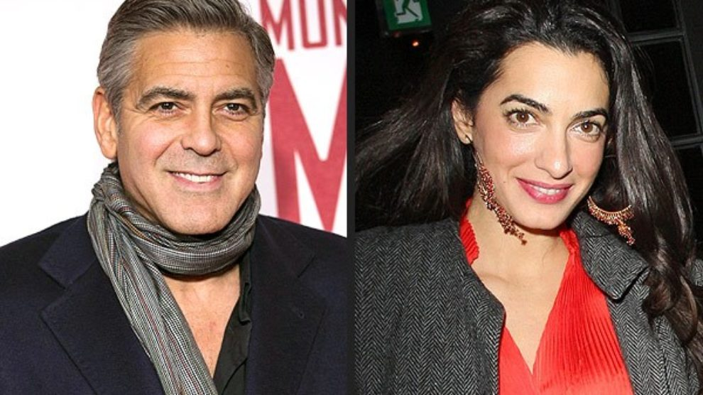 George Clooney se verio!