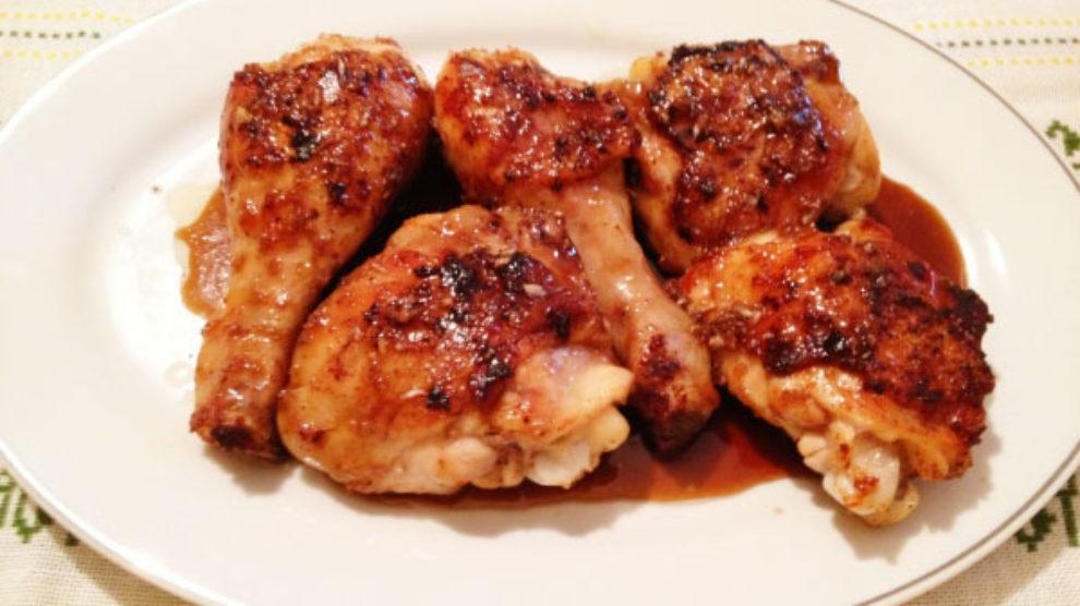 Piletina u sosu od meda i đumbira