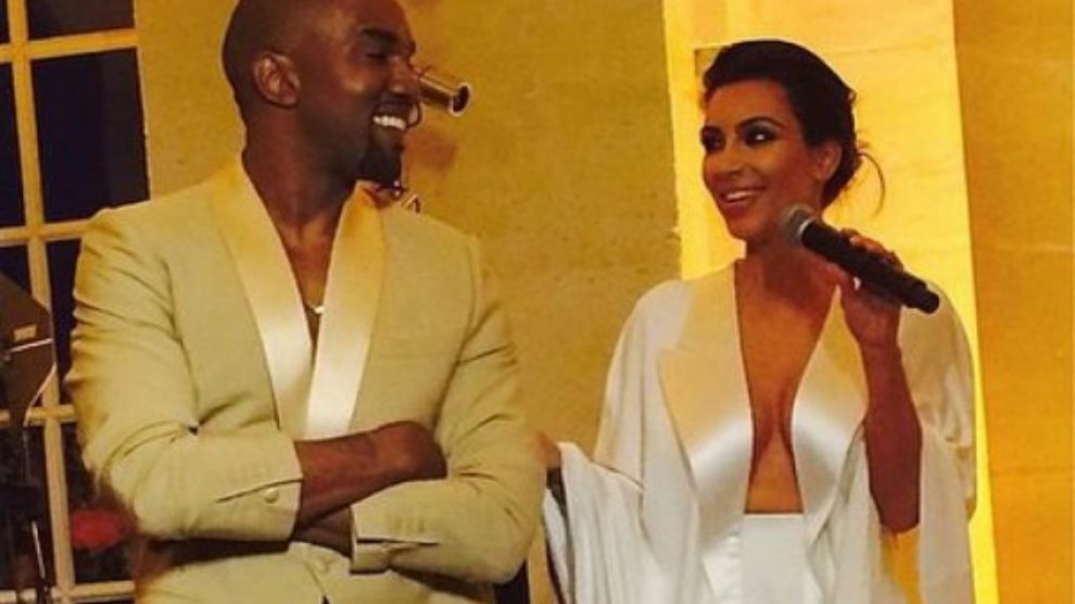 Kim i Kanye venčanje godine!