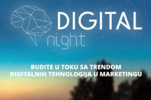 Šta nam to sprema Digital Night?
