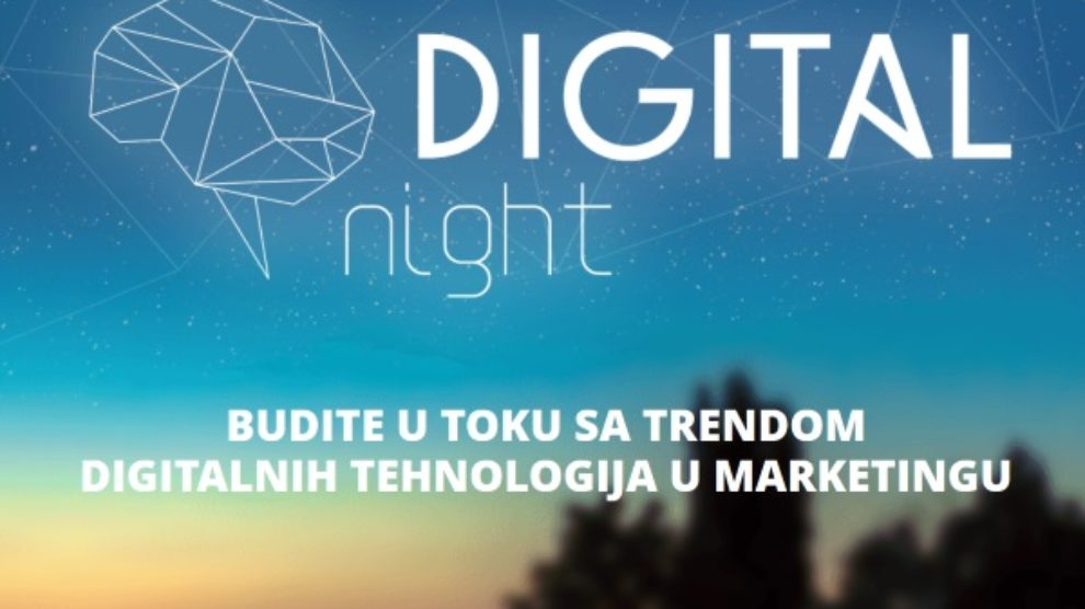 Šta nam to sprema Digital Night?