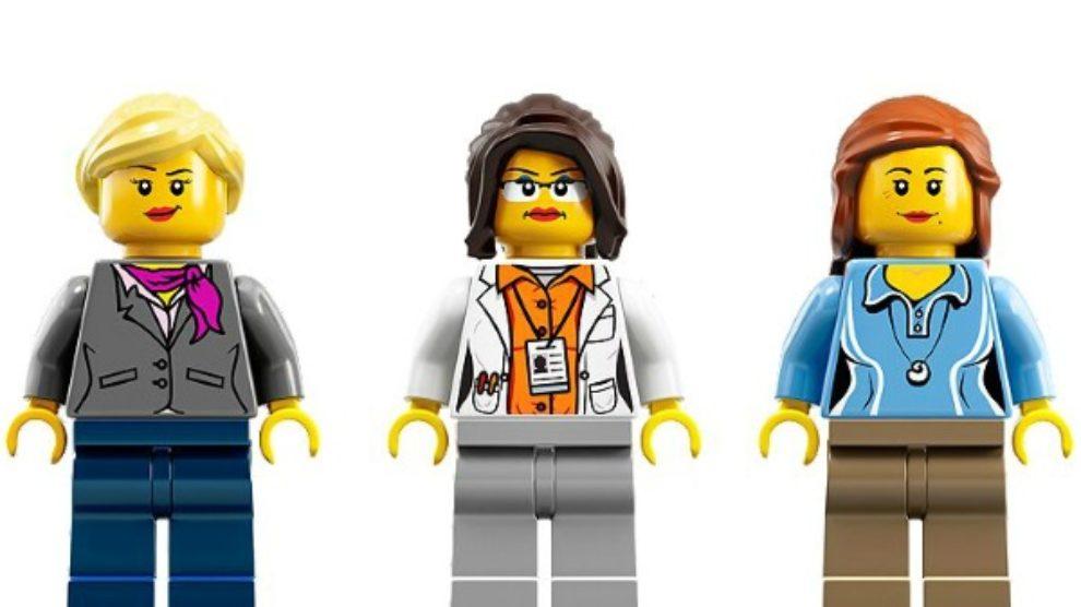 Lego figurice žena naučnica!