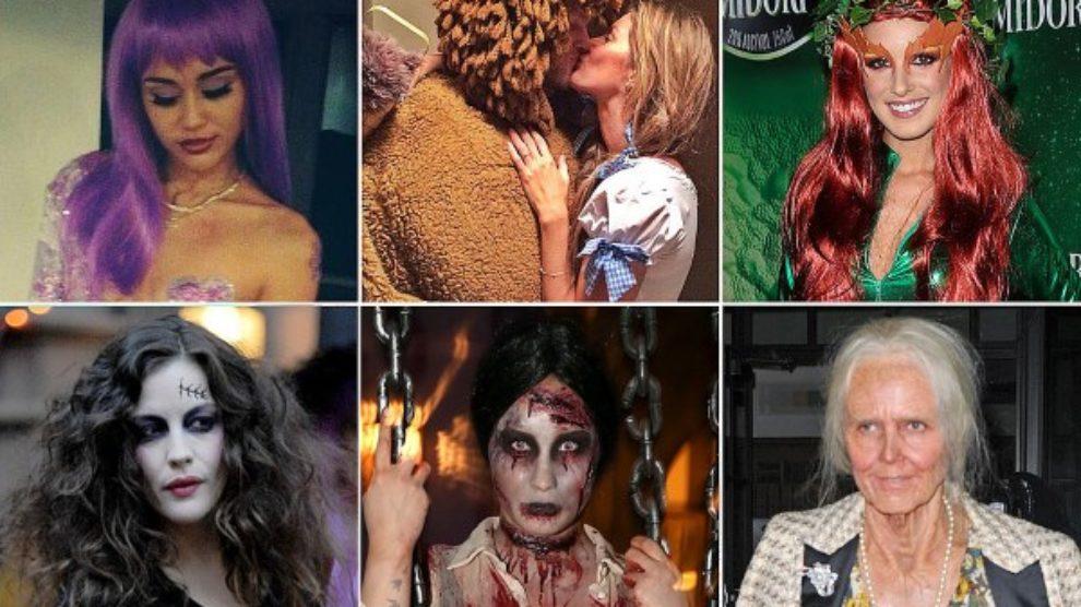 Maske poznatih za Noć veštica!