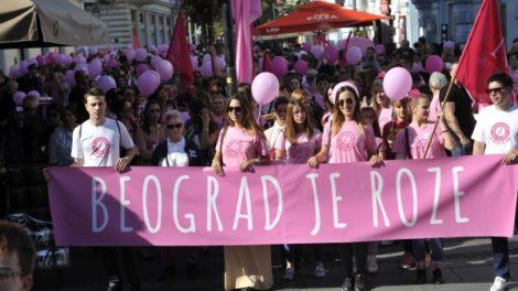 Satnica šetnje podrške Milion Razloga