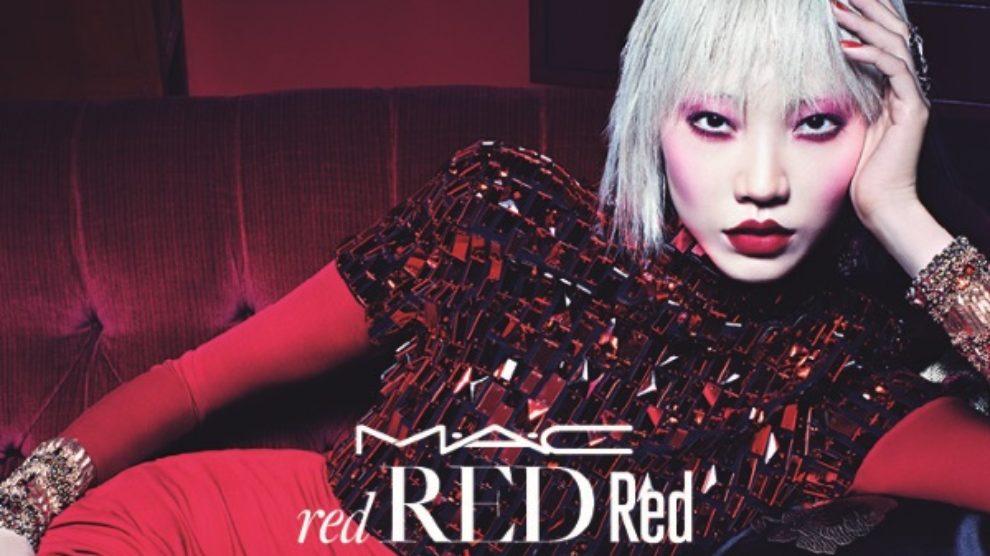 Crveno volim te crveno – nova MAC kolekcija