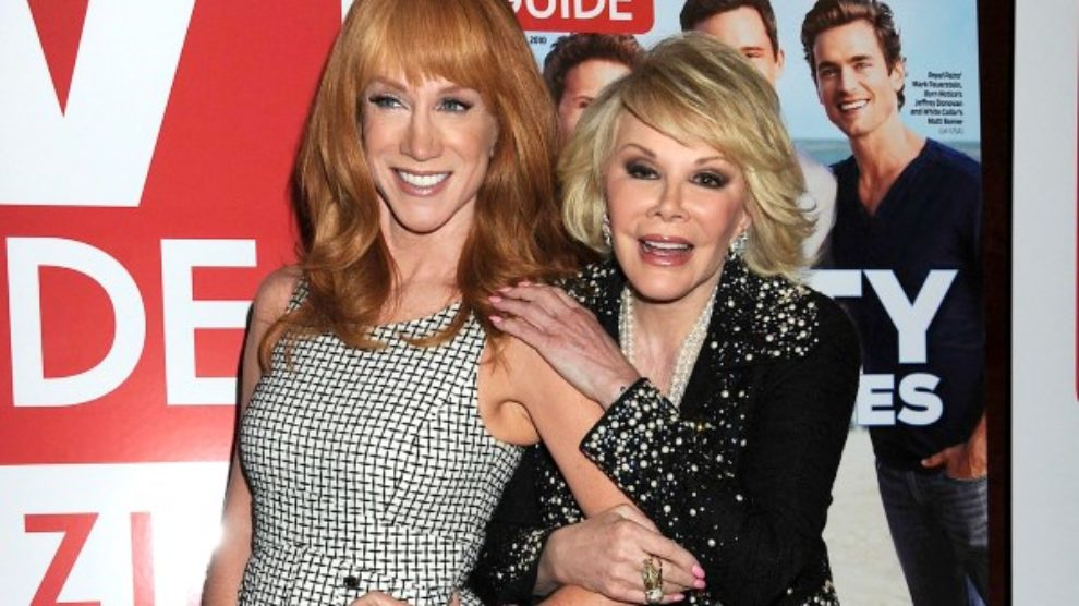 Kathy Griffin preuzima Fashion Police!