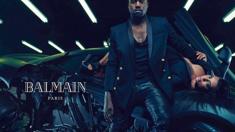 Kim i Kanye u Balmain kampanji!