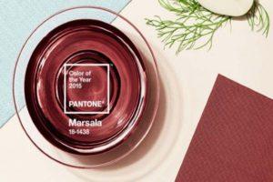 Marsala Pantone boja godine 2015