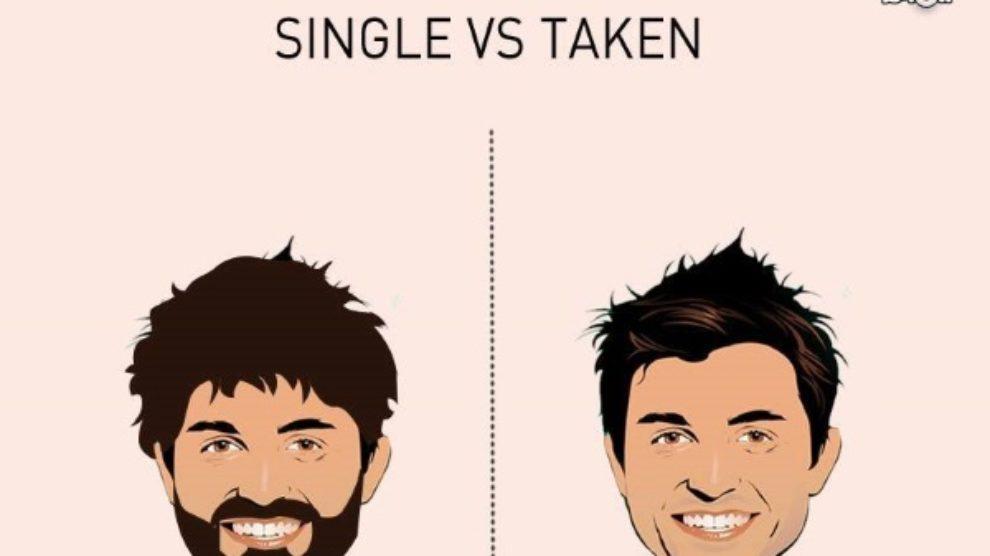 9 razlika između slobodnih i zauzetih muškaraca
