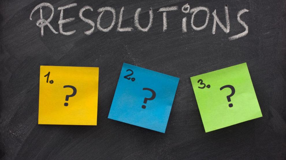 Novogodišnje rezolucije u 2015