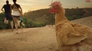 Reebok i kokoška u promociji fitnes filozofije