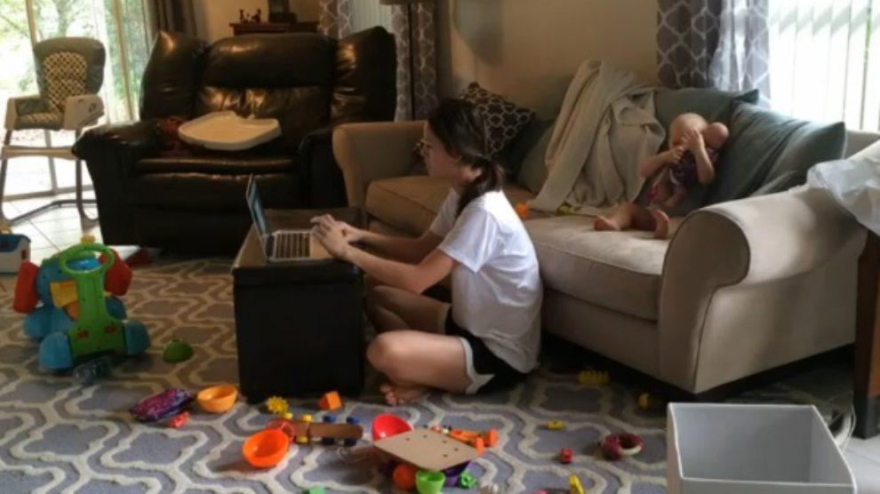 Kako neke mame rade od kuće?