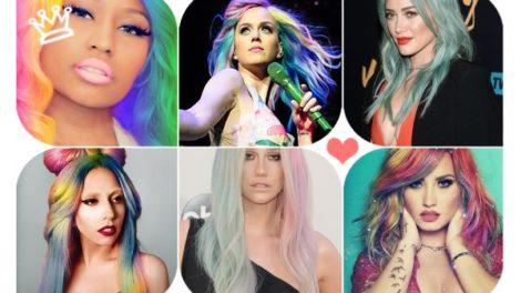 Kosa boje duge – novi modni trend!