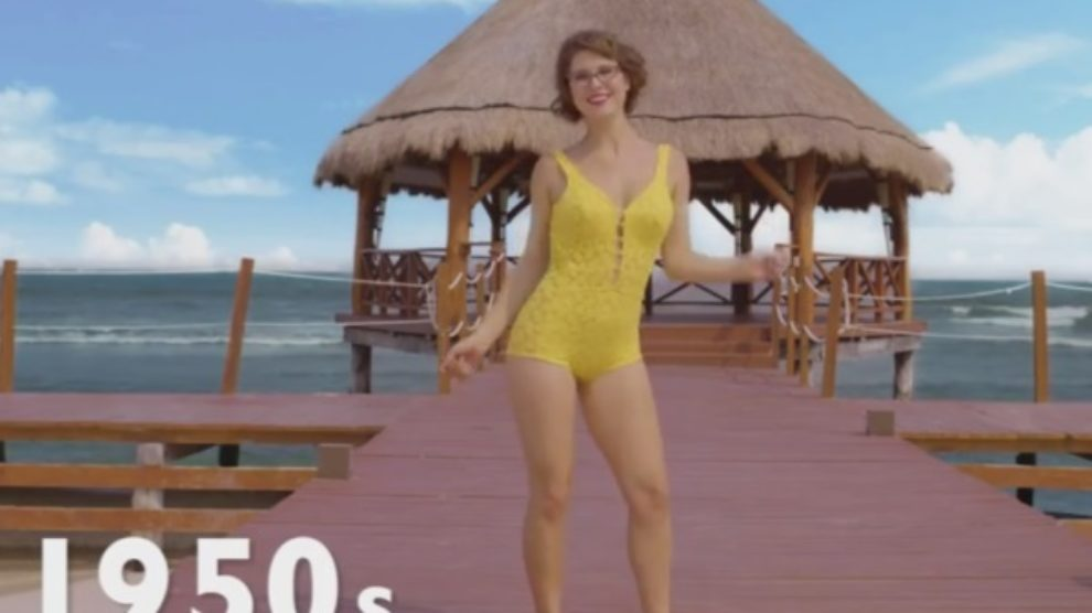 Evolucija bikinija