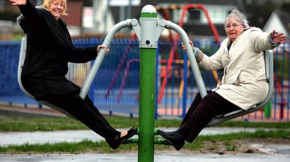 Igrališta za penzionere – jer oni to zaslužuju!