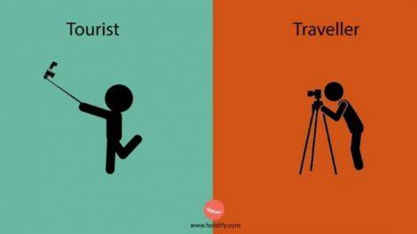 Jeste li turista ili putnik?