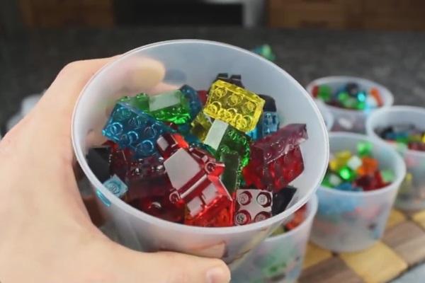 Lego gumene bombone