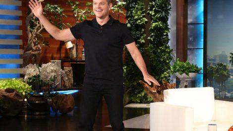 Matt Damon igra Nae Nae ples za pare!